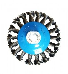 Bevel brush 115mm M14x2
