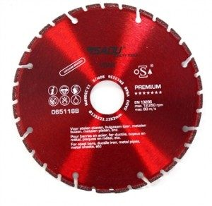 Diamond Disc Premium 230mm cuts metal !!