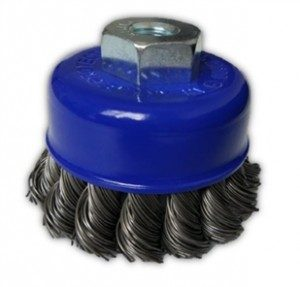 Angle Grinder Brushes - Knotted