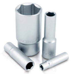 "1/4"" Deep Socket Satin"