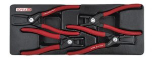 4Pc Circlip Pliers Tray