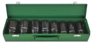 "1""Dr Impact Socket Set 8pce 24-41mm"