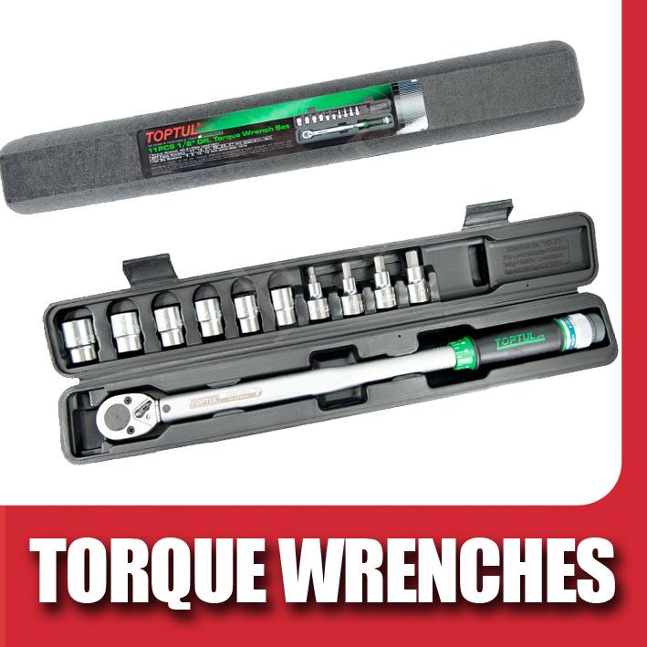 Toptul Torque Wrences