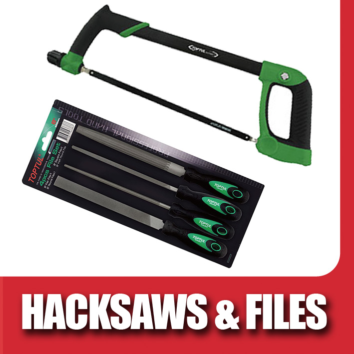 Toptul Hacksaws and Files