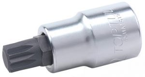 "3/8"" spline Bit Socket Satin"