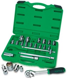 "1/2""Dr Socket set 24Pc (metric)"
