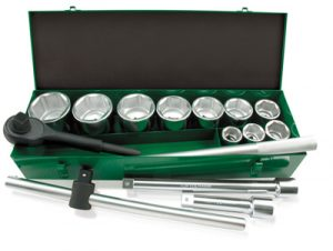 "1"" Dr Socket Set 14Pce (metric)"