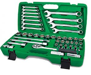 "1/2""Dr Socket & Wrench Set 42pc"