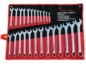 Combination Spanner Set - 25pc