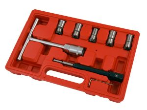 Diesel Injector Seat Cutter Set - 7pc