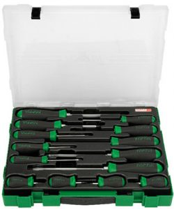 Slotted & Phillips Screwdriver Set 14Pc